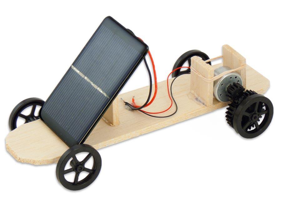 Alveol Academy solar powered car