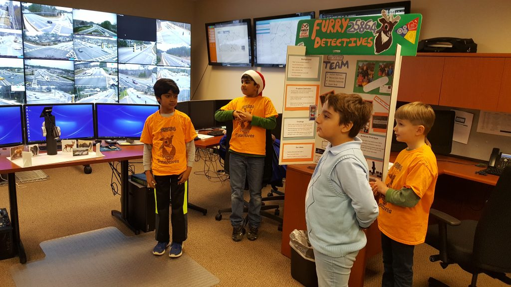 Alveol Academy - FLL Robotics Team - Animal Allies 2016-17 Season